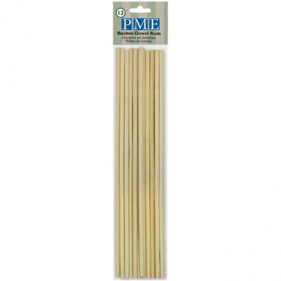 Bamboo Dowel Rods (12)