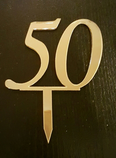 Mirror Topper - 50 - Gold