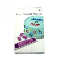 Bakeware Letter/  Number Press