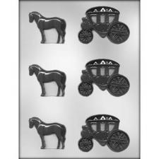 Horse and Carriage Mould