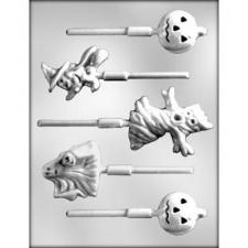 Ghosts on sticks Mould