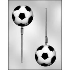 Soccer ball on stick Mould