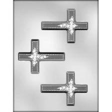Cross with Flowers Mould