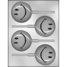Smiley Face on stick Mould
