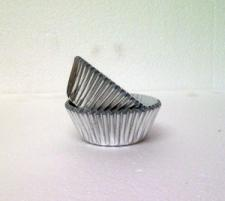 Cookie Cups #10 Foil (80) Silver