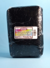 Plastic Icing Coloured Black 1kg