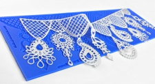 Lace Silicone Mat - Princess Jewels