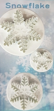Ejector Cutter - Snowflake 3 piece