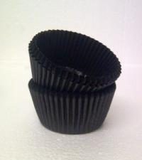 Muffin Cups (Black) #10 (80)