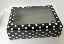 6 Cupcake Box Window Printed with insert