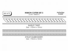 Ribbon Cutter - Barley Twist/Eyelet (set 2)