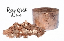 Edible - Rose Gold Love - Edible Flakes
