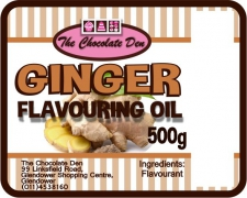 Ginger Flavour Biscuit - K (500g)