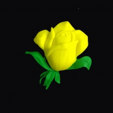 Icing Decor - Rose - Yellow