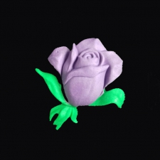 Icing Decor - Rose - Purple