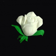 Icing Decor - Rose - White
