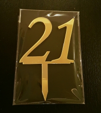 Mirror Topper - 21 - Gold