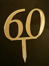 Mirror Topper - 60 - Gold