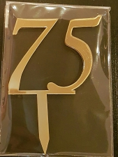 Mirror Topper - 75 - Gold