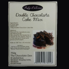 Premix - Double Chocolate Cake Mix
