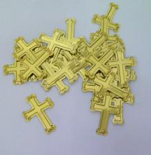 Confetti (16g)Gold Crosses