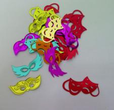 Confetti (16g) Masks Coloured