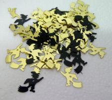 Confetti (16g) Witches Black & Gold