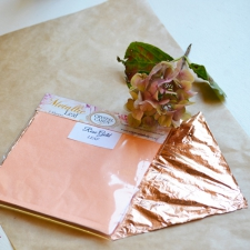 Rose Gold Leaf (3 sheets)
