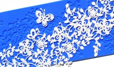 Lace Silicone Mat - Midnight Garden
