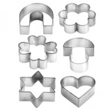 Cookie Cutters on Ring (6pcs)