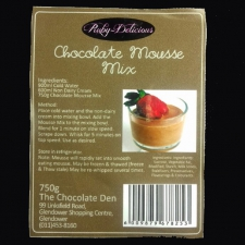 Premix - Chocolate Mousse Mix
