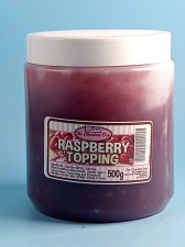 Raspberry Topping 500g